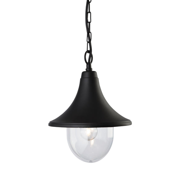 Firstlight 8670BK Station 1 Light Black Ceiling Light