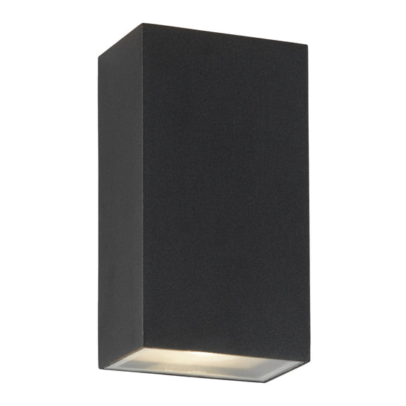 Searchlight 8852BK Black LED Wall Light