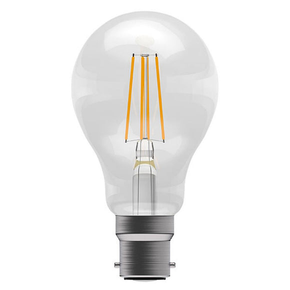 C-Lighting 25268 8w BC - B22 Dimmable GLS Lamp 806 Lumen Clear (2700k)