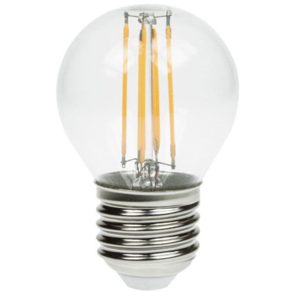 C-Lighting 25351 5w ES - E27 Dimmable Golfball Lamp 470 Lumen Clear (2700k)