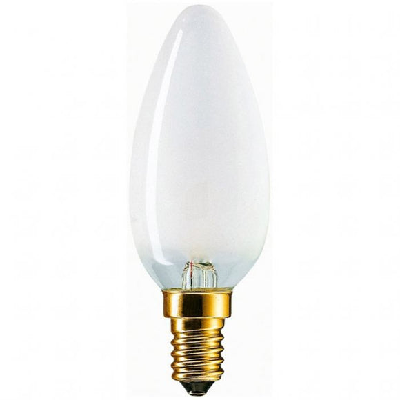 C-Lighting 24941 5w SES - E14 Dimmable Candle Lamp 450 Lumen Opal (4000k)