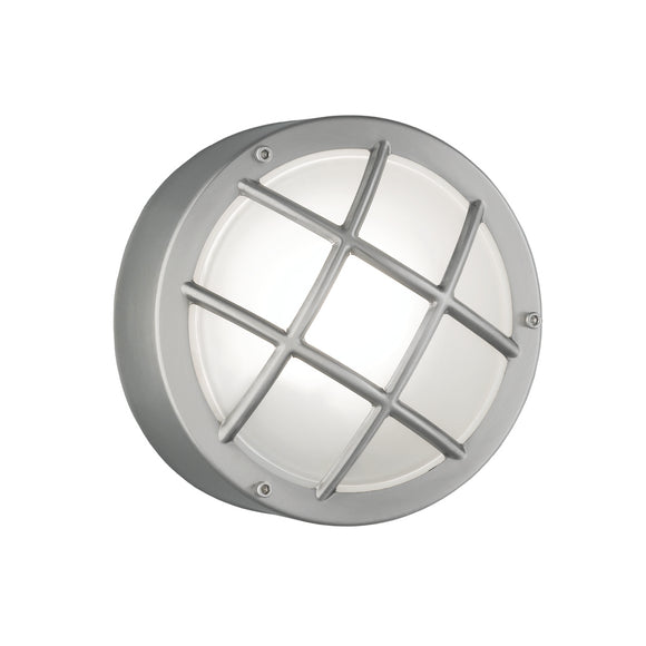 Franklite EXT6620 Exto 1 Light Stainless Steel Outdoor Wall-Ceiling Light