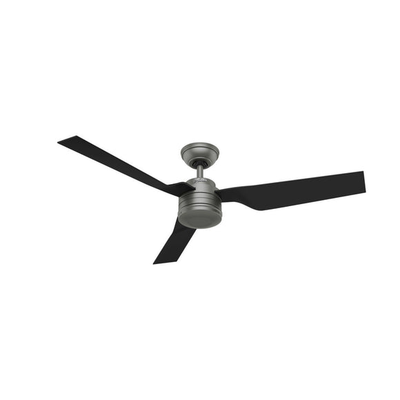 "Hunter HT-50638 Cabo Frio - 52"" Ceiling Fan Matte Silver"