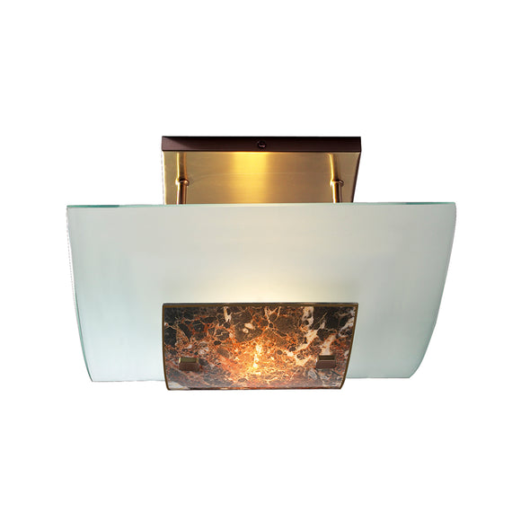 David Hunt Lighting MG78 Savoy Dark Marble Ceiling Light