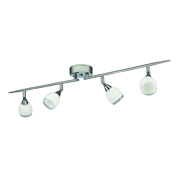 Franklite SPOT8964 Lutina 4 Light Polished Chrome Ceiling Spotlight