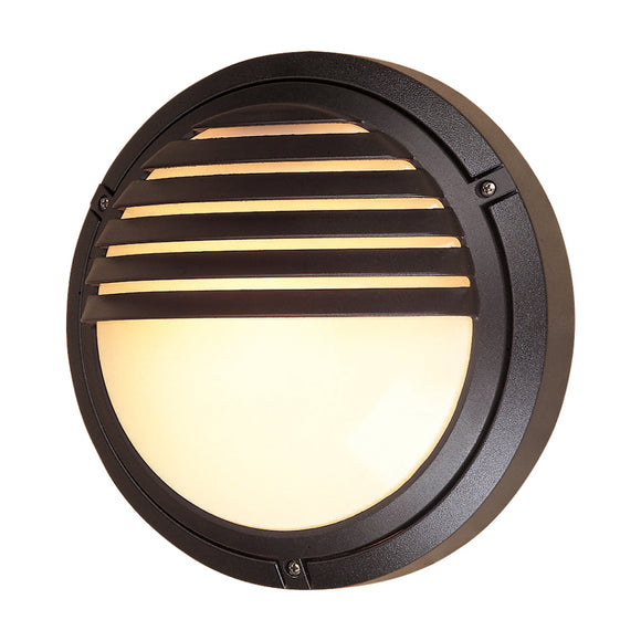 Firstlight V405BK Verona 1 Light Black Wall Light