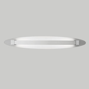 Franklite WB064 Hollo Ivory Finish LED Wall Light (Small)