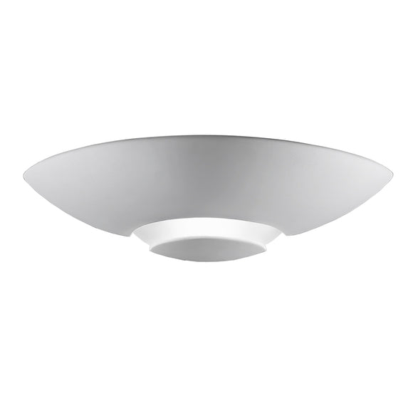 Franklite WB964 1 Light Ceramic Wall Uplighter