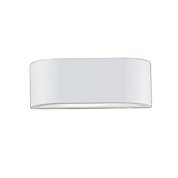 Franklite WB999 1 Light Ceramic Wall Uplighter