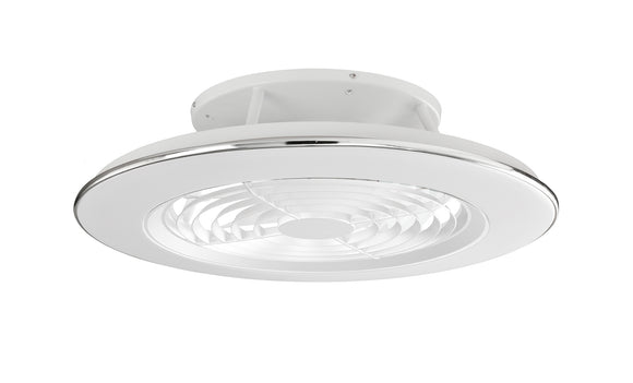 Mantra M6705 Alisio 70W LED Dimmable Ceiling Light With Built-In 35W DC Reversible Fan White (Remote Control & App)