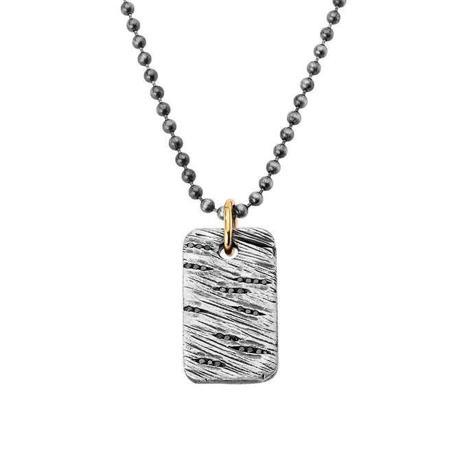Black Diamond Broken Dog Tag
