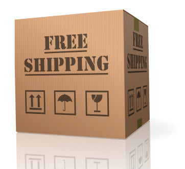 Free shipping to the lower 48 states on orders of $50 or more