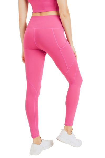 High Wait Pocket Leggings