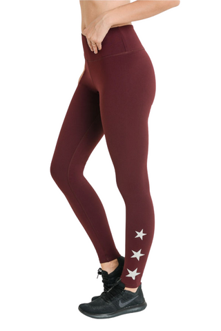 Triple Stars Legging