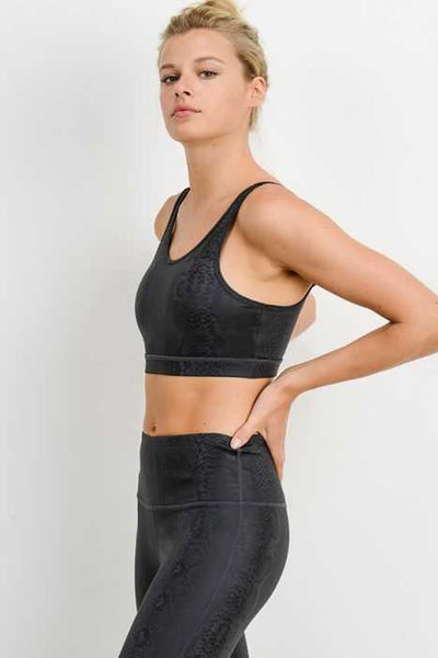 Black Mamba Sports Bra