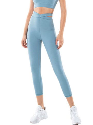 Cross Waist Yoga Legging