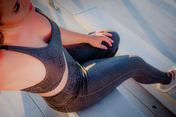 Black Mamba Yoga Legging