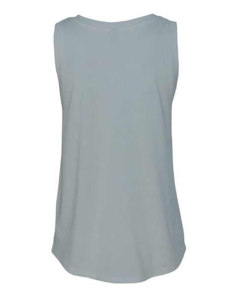 Hard Core, Soft Heart Relaxed Fit Muscle Tee - Blue Fog