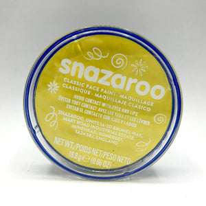 Snazaroo Face Paint - Bright Yellow