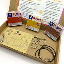 Load image into Gallery viewer, Fimo Leather Jewellery Kit