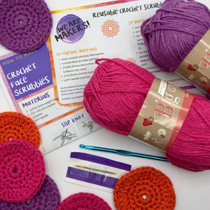 Reusable Crochet Scrubby Kit