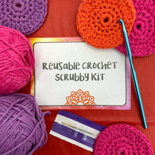 Load image into Gallery viewer, Reusable Crochet Scrubby Kit