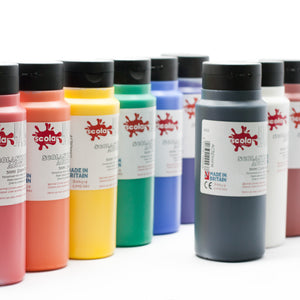 Scola System 500ml Acrylic Paint - Red