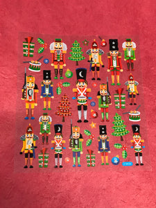 Christmas Stickers-Nutcracker