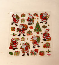 Load image into Gallery viewer, Christmas Stickers Traditional
