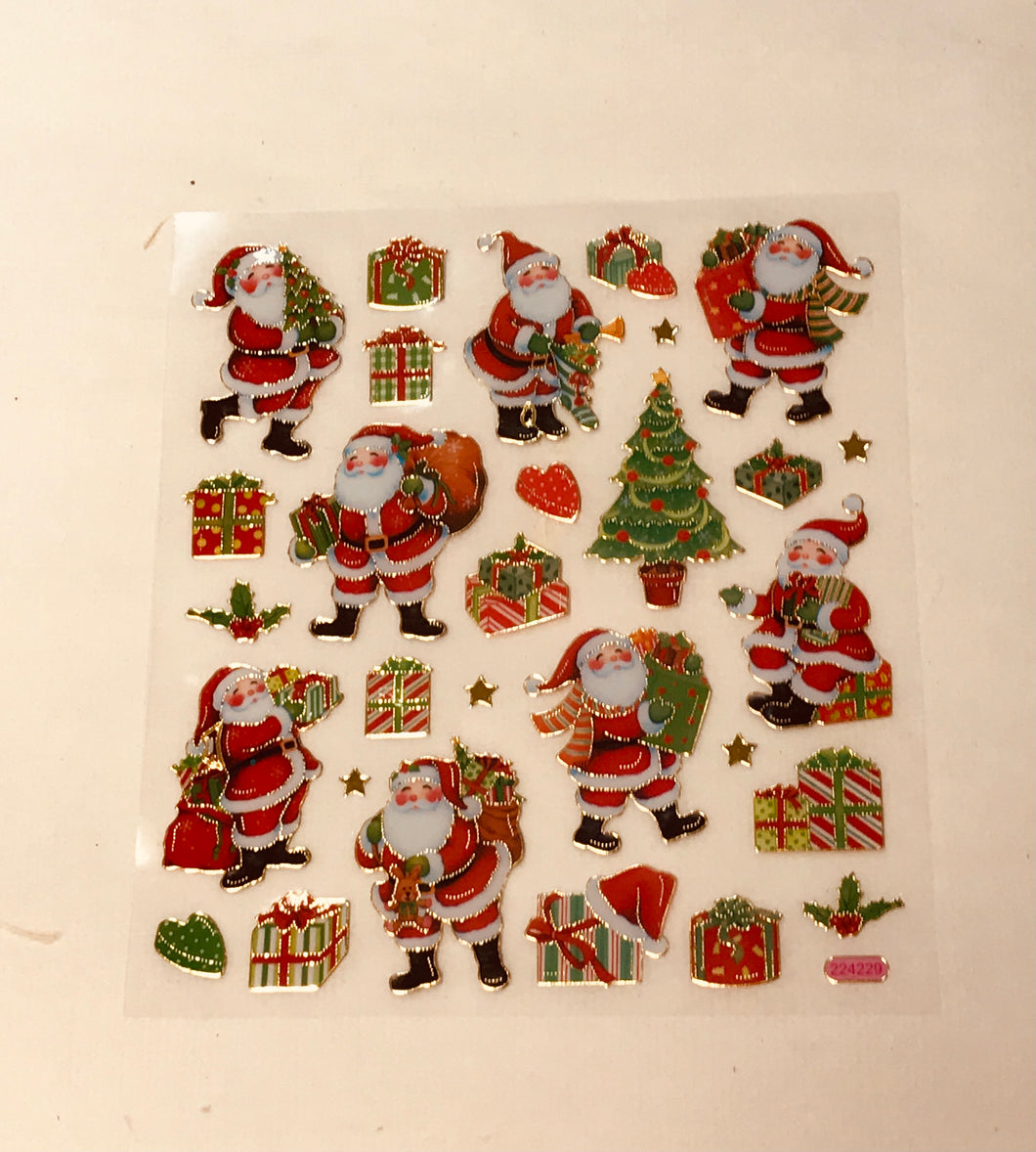 Christmas Stickers Traditional