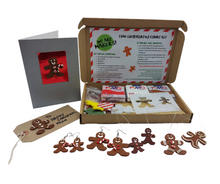 Load image into Gallery viewer, Fimo Gingerbread Figure Kit