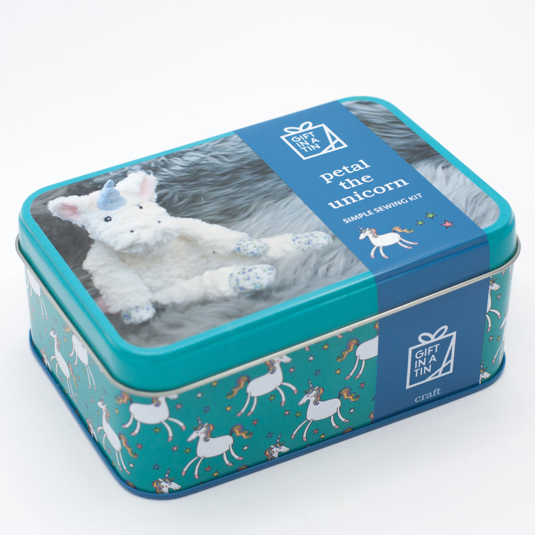 Petal The Unicorn - Simple Sewing Kit