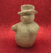 Load image into Gallery viewer, Snowman - Papier Mache