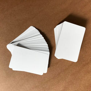 Blank Playing Cards