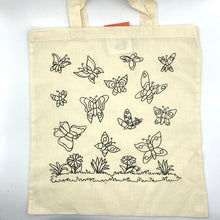 Load image into Gallery viewer, Cotton Bag - Butterfly
