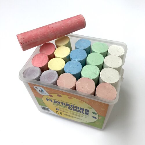 Colourful Chunky Chalk x 20