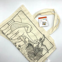 Load image into Gallery viewer, Cotton Bag - Dinosaur