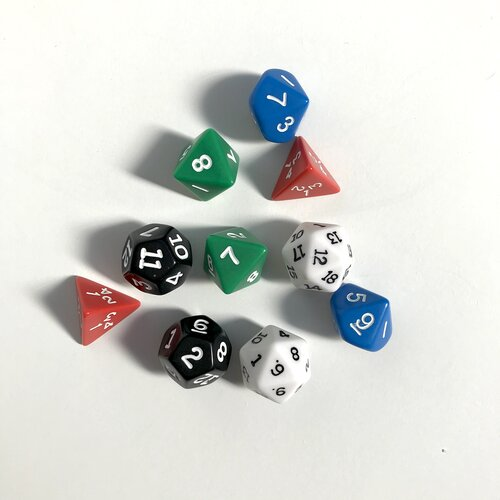 Polyhedron Dice Set