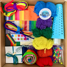 Load image into Gallery viewer, We are Makers! Of Rainbows Craft Box