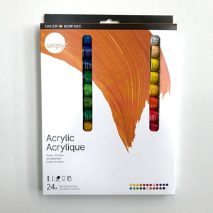 Simply Acrylic Set x 6, 12 or 24