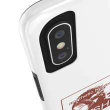 Load image into Gallery viewer, Apathetic By Design iPhone Case