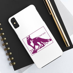 Don't Look Back iPhone Case