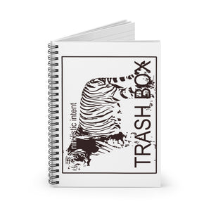Nihilistic Intent Spiral Notebook