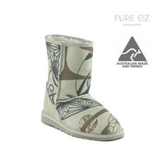 Load image into Gallery viewer, ICON MID PRINT SAND - PURE OZ AUSTRALIAN MADE UGG BOOTS