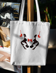 What do you see? Classic Ink Blot Unisex Tote Bag