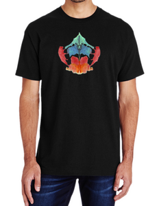 What do you see? Colorful Ink Blot T-Shirt