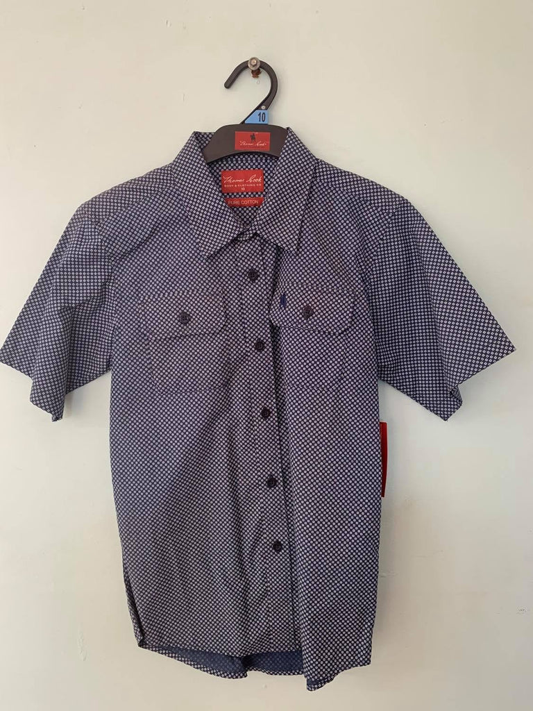 Thomas Cook Boys Oakwood Print Shirt Size 10-Clothing-Morven News & Friendly Grocer