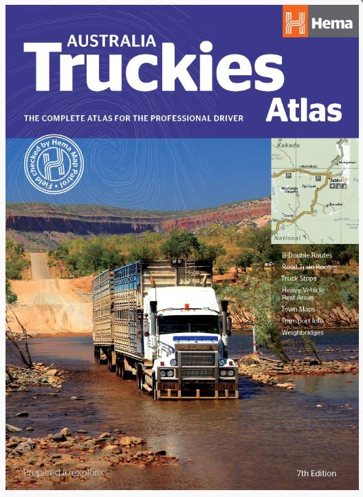 Australia Truckies Atlas-Accessories-Morven News & Friendly Grocer