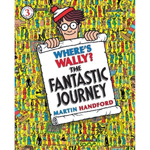 Where's Wally: The Fantastic Journey-Books-Morven News & Friendly Grocer
