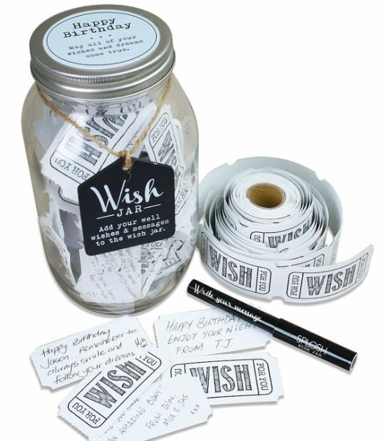 Splosh Wish Jar Happy Birthday-Décor-Morven News & Friendly Grocer